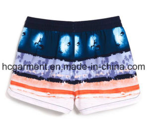 Board Shorts for Women/Lady, Strip/Solid Sex Quickly Dry Beach Wear pictures & photos