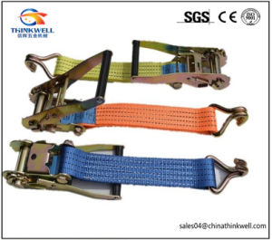 Customized 25mm-75 mm Ratchet Tie Down Strap pictures & photos