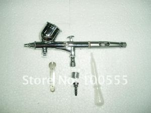 Free Shipping! New 0.3mm Dual-Action Airbrush Gun Gravity Paint Tattoo Pr-203 pictures & photos
