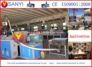 Plastic Machinery-WPC Building Template Machine pictures & photos
