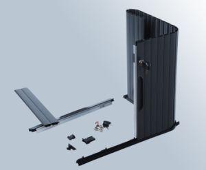PVC Roller Shutter, Cabinet Shutter (SE16)