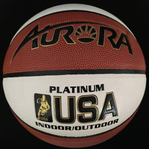 Multicolored PVC Leather Laminated Basketball