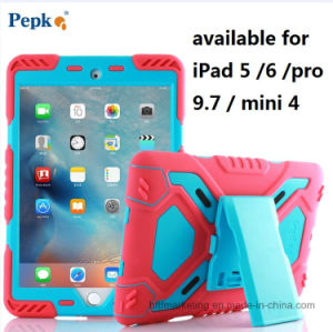 New Pepkoo Defender Military Spider Stand Case Cover for iPad pictures & photos