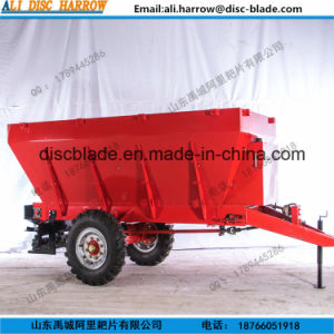 Tractor Trailed Salt Spreader Trailer pictures & photos
