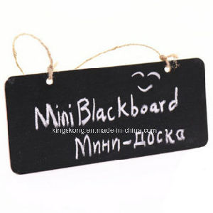 Rectangular Chalkboard Black Board with Cord, Bar, Pub, Home, Christmas, Birthday pictures & photos