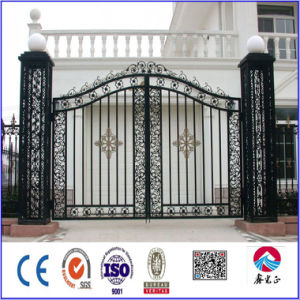 Low Cost Wrought Iron Gate/Door pictures & photos