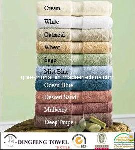 China Wholesale Supreme 500GSM Egyptian Cotton 4 Piece Guest Towel Set Cotton Towel pictures & photos