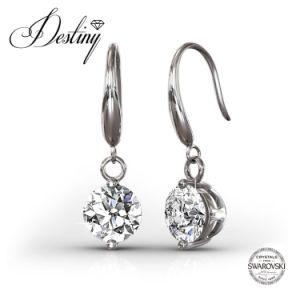 Destiny Jewellery Crystal From Swarovski Crystal Hook Earrings