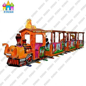 Attractions Mini Electric Trackless Toy Train for Kids pictures & photos