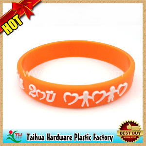 Custom Hand Strap Silicone Wrist-Band (TH-06002) pictures & photos