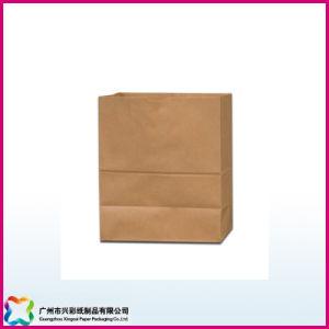 Brown Kraft Paper Shopping Packaging Bag (XC-5-015) pictures & photos