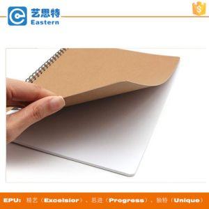 Mini Spiral Bound Kraft Paper Notebook pictures & photos
