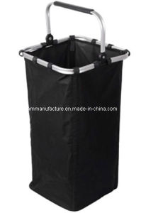 Aluminum Handle Laundry Basket (KM4351) pictures & photos