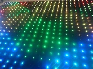 2017 Hot Christmas RGB Vision Cloth LED Video Curtain for Stage Lighting DJ, Bar, Events Show Disco pictures & photos