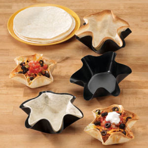 Non Stick Tortilla Pan Set of 4, Bowl Pan, Cake Pan pictures & photos