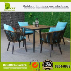 Outdoor Furniture Dining Coffee Table and Chair Set Dgd4-0029 pictures & photos