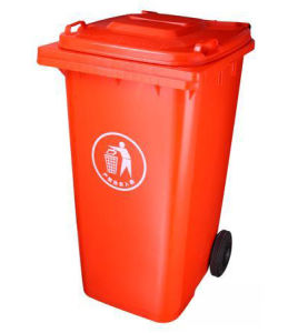 240L Plastic Waste Bin/ Dustbin Fit with Garbage Truck pictures & photos