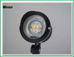 2.4G RGBW Remote Control LED Spotlight 9W for Garden Lamp Light pictures & photos