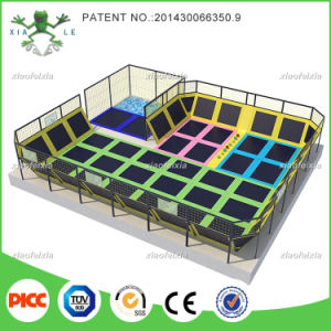 Super Size Professional Manufacturer Large Indoor Gymnastic Commercial Trampoline Park for Sale pictures & photos