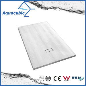 Sanitary Ware 900*800 SMC Shower Tray Wooden Effect Surface (ASMC9080W) pictures & photos