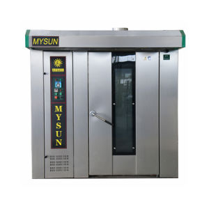 Diesel Gas Electric S. S Rotary Convection Oven From Mysun with ISO9001 AAA Ce pictures & photos