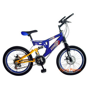 "High Grade 16"" Full Suspension Children MTB Bike (FP-KDB047) pictures & photos"
