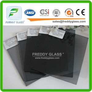 5mm Black Float Glass/Tinted Glass/Tinted Float Glass/Float Glass/Dark Float Glass pictures & photos