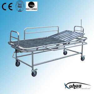Stainless Steel Material Patient Transfer Trolley/ Hospital Furniture (G-2) pictures & photos