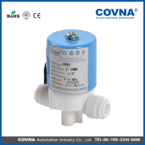 Covna Plastic Latching Solenoid Valve for RO System pictures & photos
