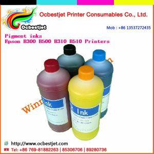 4 Colors Bottle Refill Inks, K3 Pigment Ink for Epson B-510dn/ B-310dn/ B510 Inkjet Printers