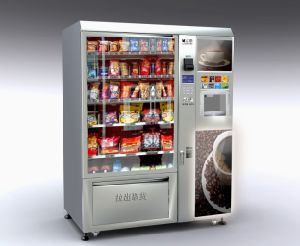 Snack/Cold Drink and Coffee Vending Machine (LV-X01) - 2 pictures & photos