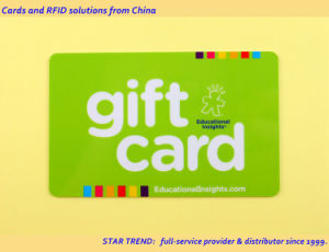 200 Dollar Gift Card for Shopping Mall Made From Plastic with Barcode pictures & photos