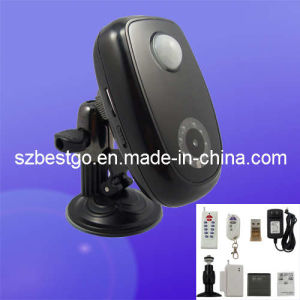 WCDMA Wireless Home 3G Alarm System Remote Camera With Living Video and Intercom
