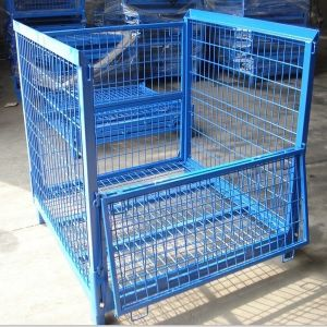 Foldable Stackable Steel Wire Mesh Bulk Container pictures & photos
