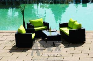 Garden Furniture Sofa Set Outdoor Furniture Rattan Lounge Sofa pictures & photos