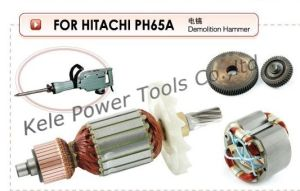 Armatures, Stators, Gear Sets for Power Tools Hitachi pH65A pictures & photos