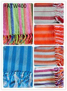 Yarn Dyed Cotton Throw / Plaid (ATW400)