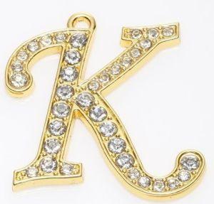 DIY Fashion Alloy Letters Pendant (DE041)