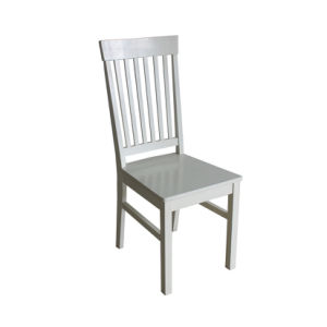 White Birch Wood Dining Chair