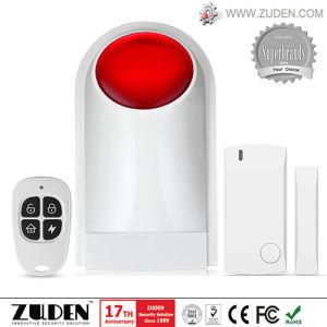 Wireless Security Burglar Alarm with Flashing Siren pictures & photos