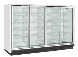 Display Freezer with Glass Door for Supermarket pictures & photos