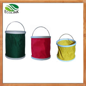 Portable Folding Water Bucket for Fishing, Camping, Car Wash pictures & photos