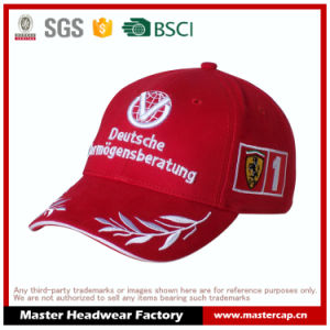 Red Cotton F1 Racing Basebll Cap pictures & photos