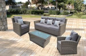 Outdoor Furniture Patio Rattan Garden Sparta Lounge Set Sofa (J593) pictures & photos