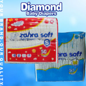 PE Film Baby Diapers with High Absorption (JH017) pictures & photos
