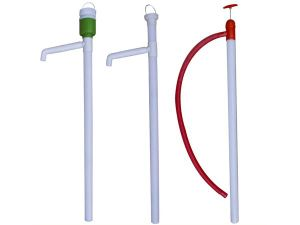 Hand-Pull Plastic Oil Barrel Pump pictures & photos