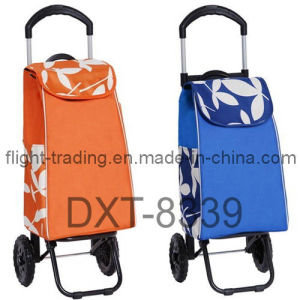 Folding Shopping Trolley with Telescopic Frame pictures & photos