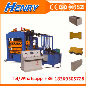Qt4-15full Automatic Block Production Line Concrete Block Making Machine Paver Machine Construction Machinery pictures & photos