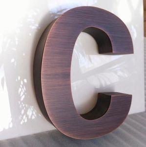 Antique Copper Finish Built up Channel Letters pictures & photos