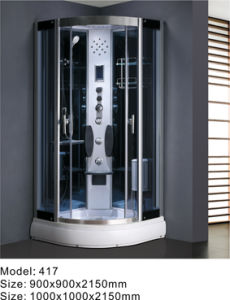 2013 Hot Luxury Computerized Steam Shower Cubicle (417)